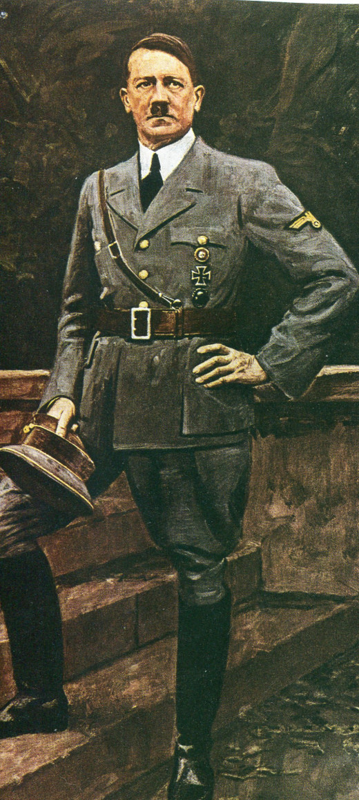One of Many Portraits of Adolf Hitler