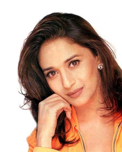 Madhuri Dixit is an Indian Actress known for her performances and Dancing. She was also the muse of Painter M.F. Husain who made a series of paintings of her and a Bollywood film named Gaja Gamini starring her.