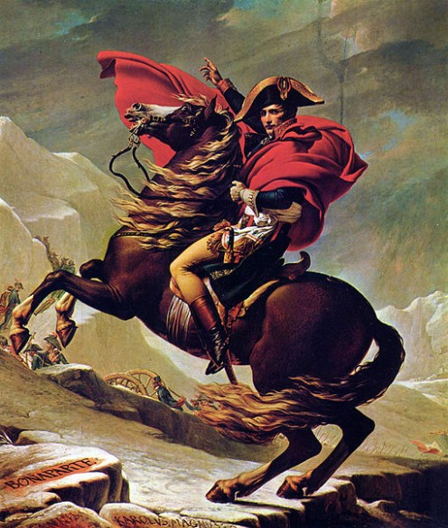 Napoleon was seen by many as an evil tyrant, but by others as a hero.