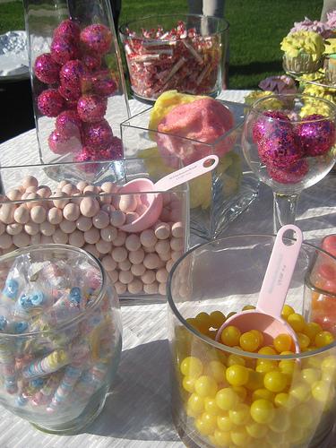 Candy Buffet Outdoors