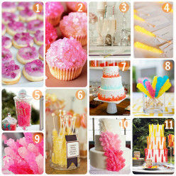 Wedding Candy Buffet - Creative Themed Wedding Planning, Etiquette & Ideas: Favors & Reception