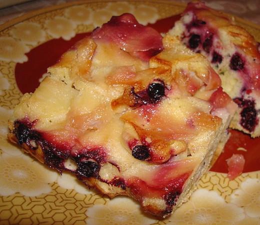 Custard and Fruit Recipe