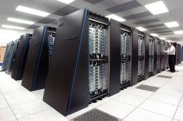 IBM Blue Gene P supercomputer.