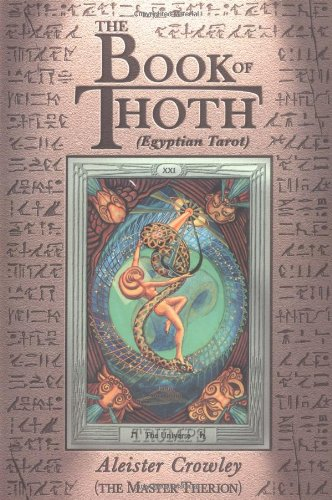 This is the cover of The Book of Thoth by Aleister Crowley.