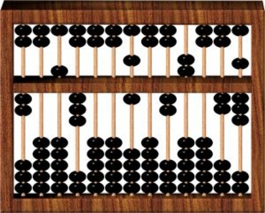 Can you do percentages with an abacus?