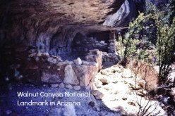 Grand Canyon State ~ Walnut Canyon Park Pictures ~ Ancient Indians Presence