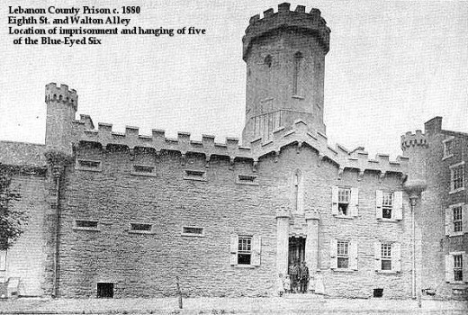 Lebanon County Prison - site of the executions