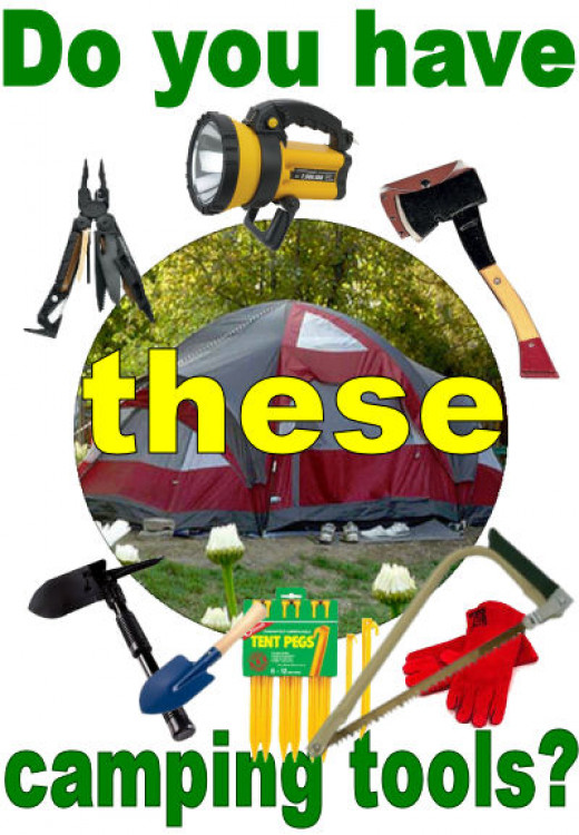 camping tools list