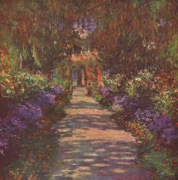 Garden Path, 1902 Claude Monet 1840-1926