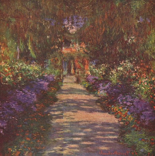 Garden Path, 1902 Claude Monet 1840-1926