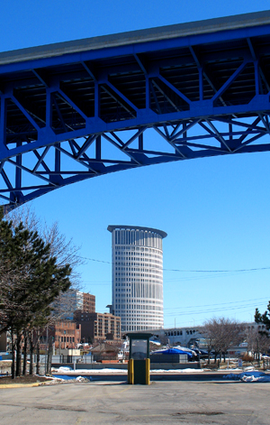 Another of Cleveland's monumental bridges