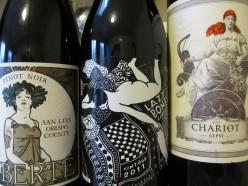 Wine Crafts: Wine Label Greeting Card Tutorial