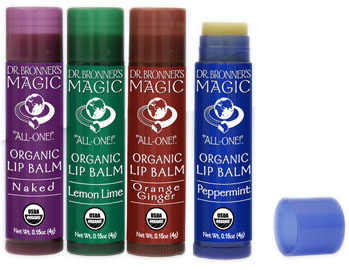 Dr. Bronner's Organic Lip Balm Review