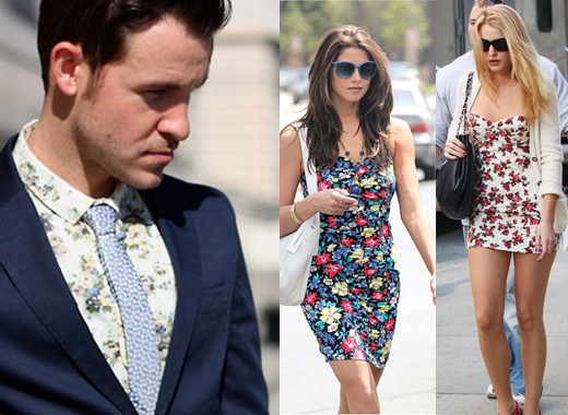 Floral prints in the office? Rock them out with confidence. Ashley Greene and Blake Lively are blooming in their floral minis.