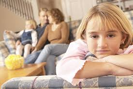 When a child is the unfavored one in the family,he/she feels like an outsider, nonentity,& under a dark cloud. No matter what he/she does, it really DOES NOT matter.............