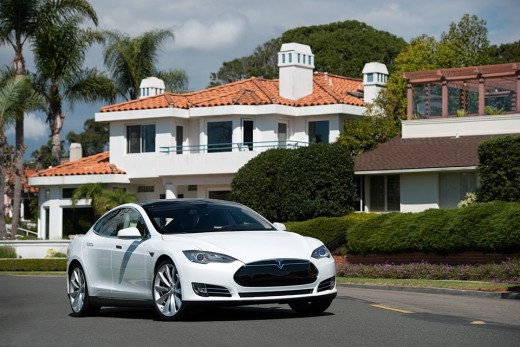 Tesla Motors Model S Car. Consumer Reports is calling the Tesla Model S the best car it has ever tested. The Model S, an all-electric plug-in car, earned a score of 99 out of a possible 100 in the magazine's tests. Drawback-- Need to recharge.