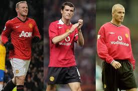 Rooney, Keane, Beckham