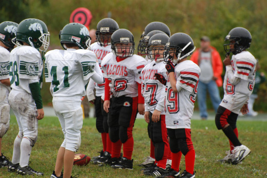 tackle in pop warner football