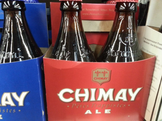 Chimay Premiere, a little expensive but worth it after you taste it.