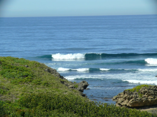 Nahoon Reef-a top surfing spot
