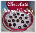 How To Make Easy Chocolate Dipped Candy Balls:  Instructions and Photos
