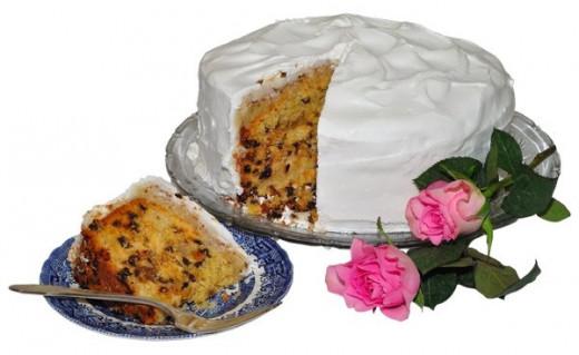 Traditional English Wedding Fruit Cake