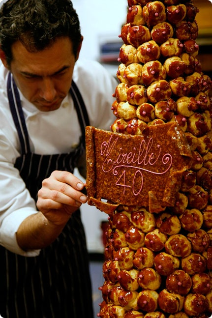 Croquembouche-Traditional French Wedding Cake