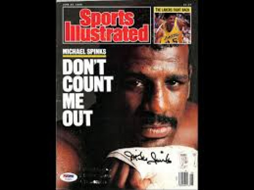 Michael Spinks was a former Light Heavyweight champion who never lost a fight at the weight.