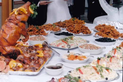 Traditional Portuguese Reception Delicacies