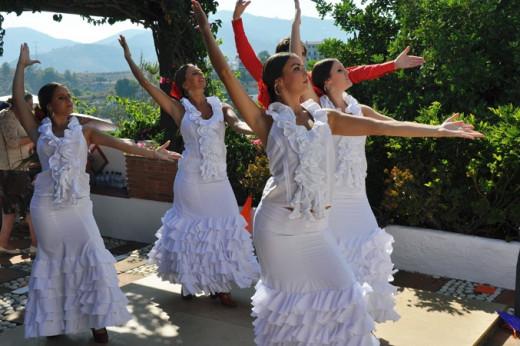 Spanish Dancers At Weddings