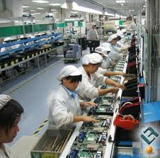A printed-circuit-board (PCB) assembly plant