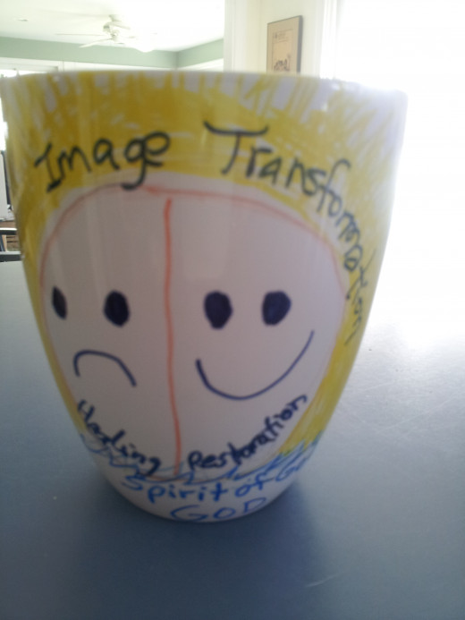 A mug from one of the other participants