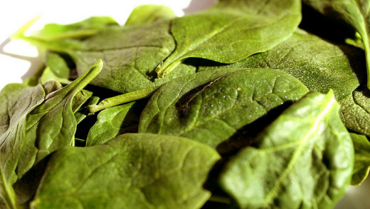 Healthy tasty Spinach- No wonder How Popeye had such big muscles