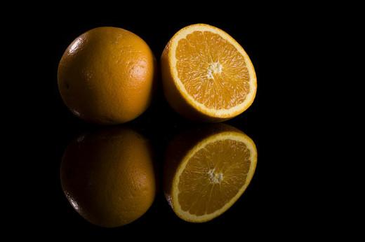 Tasty Healthy Orange