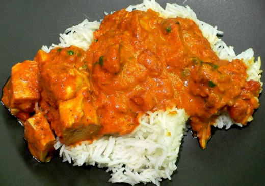Indian Food in Newquay - Chicken Tikka Massala