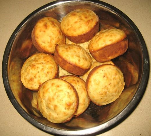 Elderflower Muffins