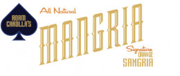 Mangria is Orange Sangria with a manly kick!