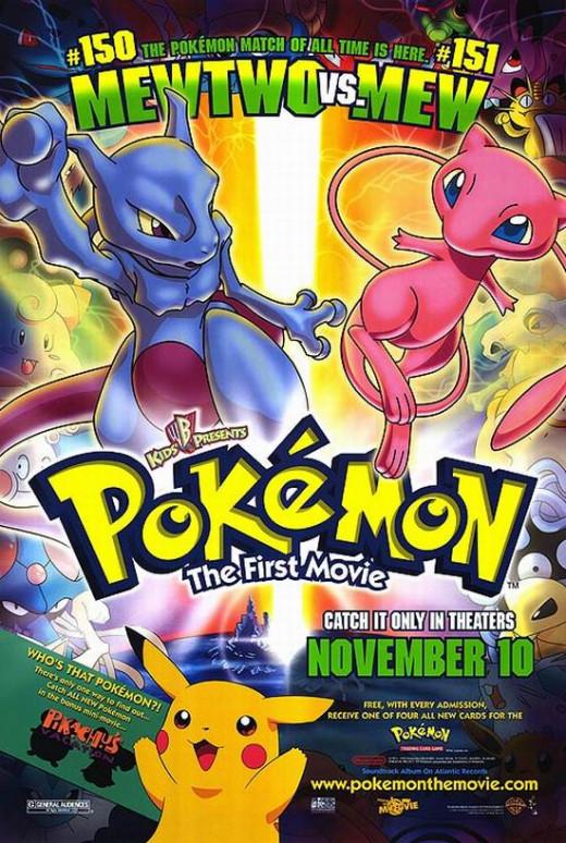 Pokemon the First Movie (1998)