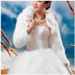 Vintage Style Bridal Coats and Bolero Jackets  for Winter Brides