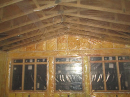 Properly installing vapor barriers for conventional fiberglass insulation can dramatically increase the energy efficiency of a building.