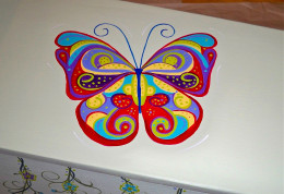 Getting that butterfly ready to fly was a process!