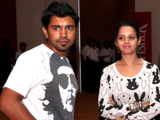 Actress Bhavana hot photo http://www.bollywoodhungama.com/more/photos/view/stills/parties-and-events/id/1409469