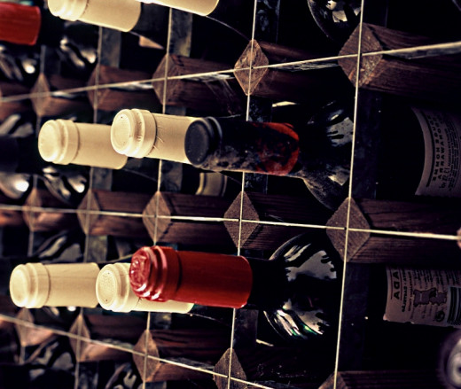 Racks for home cellars need to be sturdy and hold the wines horizontal