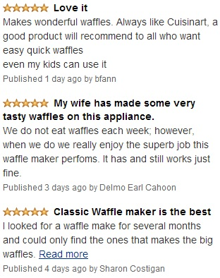 Superb Customer reviews