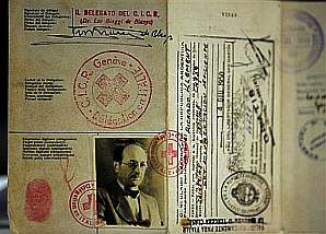 Eichmann's Red Cross passport