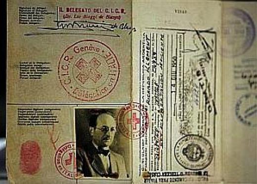 Eichmann's Red Cross passport
