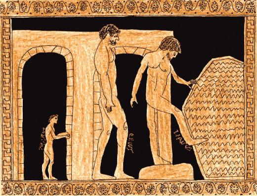 Roman Bathers