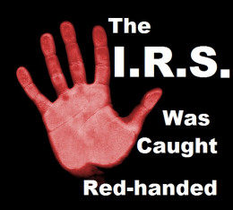 IRS caught red-handed