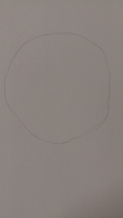 Draw a round and not perfect circle