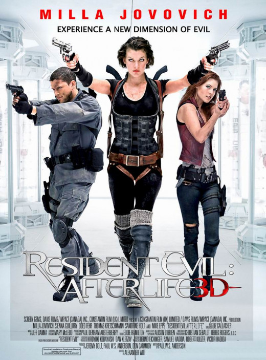Resident Evil Afterlife (2010)